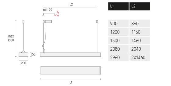 Cubic G1/P1 de Lightnet   Suspensions