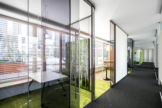 fecotür glass sliding door ST10B by Feco | Internal doors
