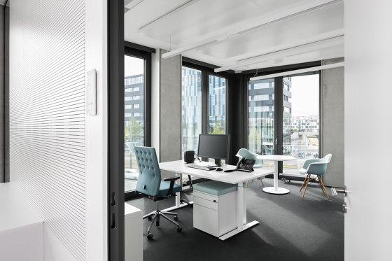 fecophon wood by Feco | Sound absorbing wall systems