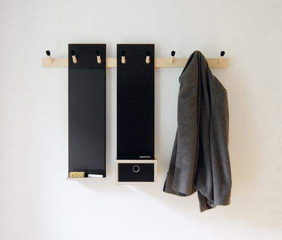 Rechenbeispiel by Nils Holger Moormann | Hook rails