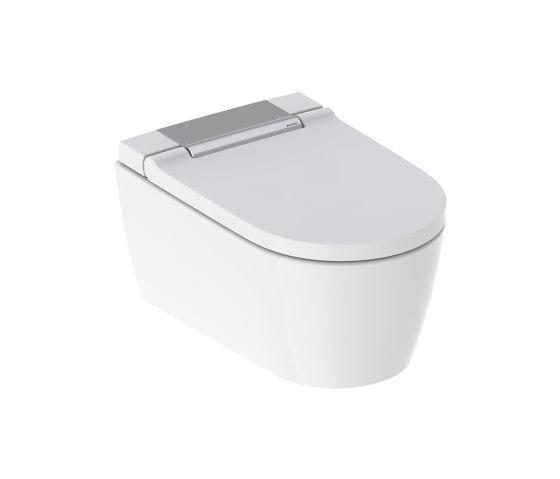 AquaClean   Sela wall-hung WC gloss chrome by Geberit   WC
