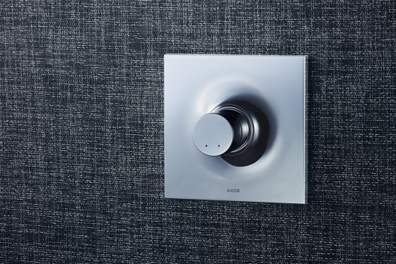 AXOR Massaud Single Lever Shower Mixer for concealed installation by AXOR   Shower controls