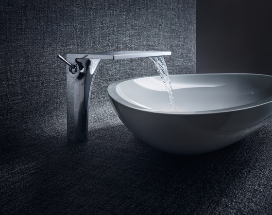AXOR Massaud Single Lever Basin Mixer for wash bowls without pull-rod DN15 by AXOR | Wash basin taps