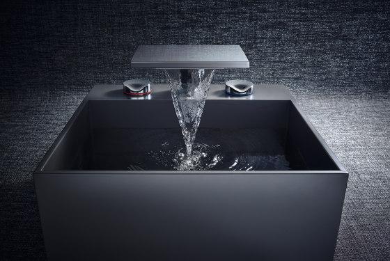 AXOR Massaud 3-Hole Basin Mixer DN15 by AXOR | Wash basin taps