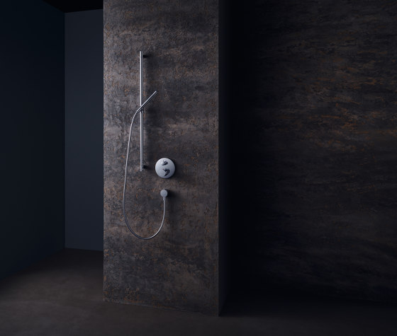 AXOR Starck Thermostatic Mixer for concealed installation with shut-off valve by AXOR | Shower controls