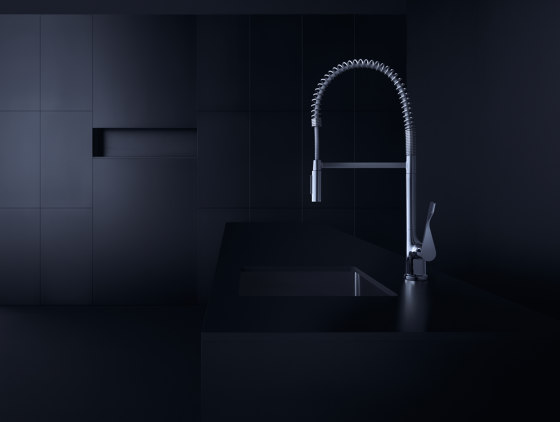 AXOR Citterio Semi-Pro Single Lever Kitchen Mixer DN15 by AXOR   Kitchen taps