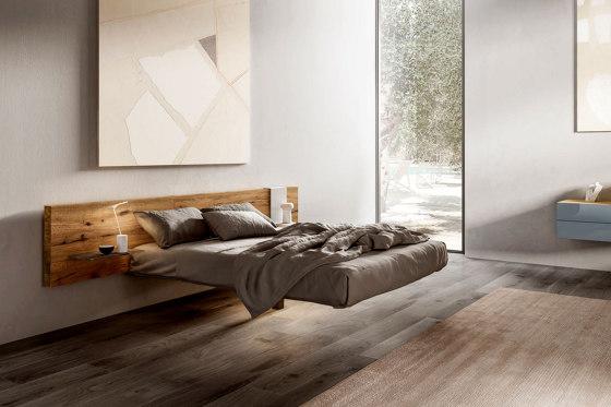 Fluttua Bed - Wildwood by LAGO | Beds