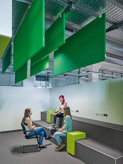 TP30 SILENCE Panel by Rosso | Sound absorbing ceiling systems
