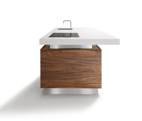 k7 cooking island by TEAM 7 | Island kitchens