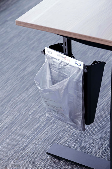 SetUpIT with Sopi plastic bags by Götessons | Waste baskets