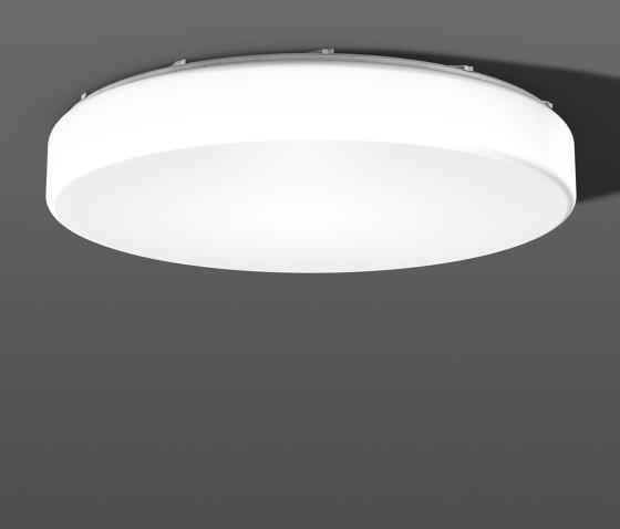 Flat Polymero® Kreis and Kreis XXL ceiling and wall luminaires di RZB - Leuchten | Lampade parete