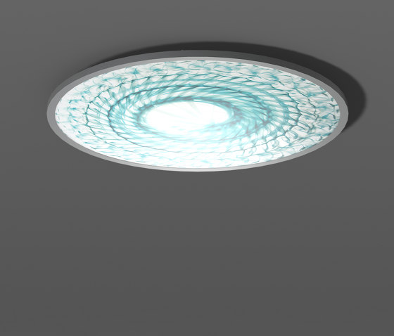 Sidelite® Round Ferro MuranoCeiling and wall luminaires de RZB - Leuchten | Plafonniers