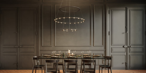 PIANI CASTELLO by BYOK | Suspended lights