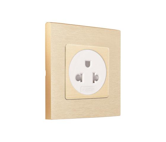SoHo | Euro-American Socket by FEDE | EURO-US sockets