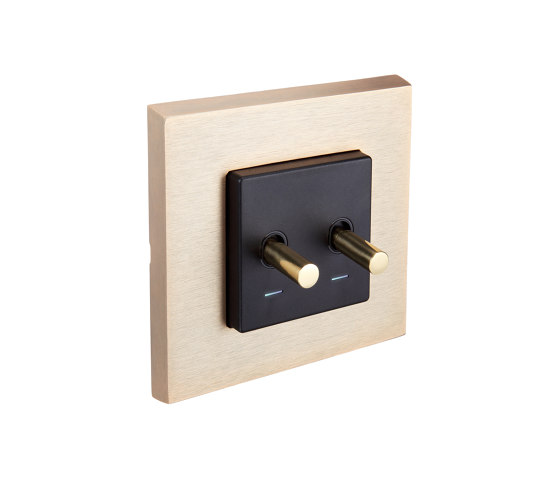 SoHo | Double Toggle Switch by FEDE | Toggle switches