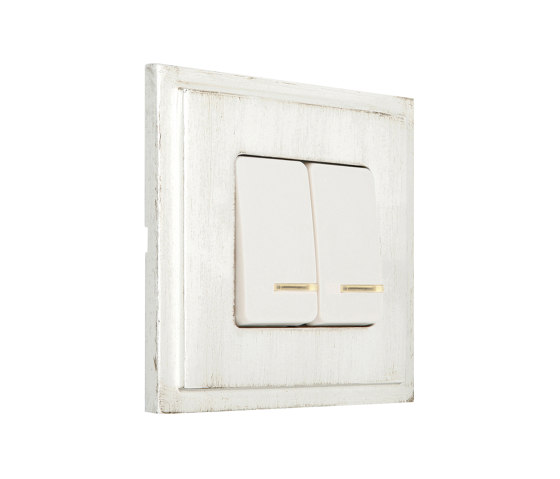 Provence | Double Push-Button Switch by FEDE | Two-way switches
