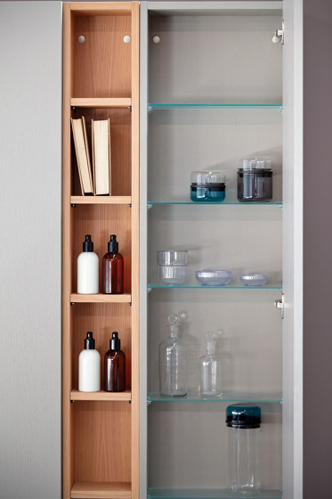 Strato Wall mounted cabinets and mirror cabinets by Inbani | Wall cabinets