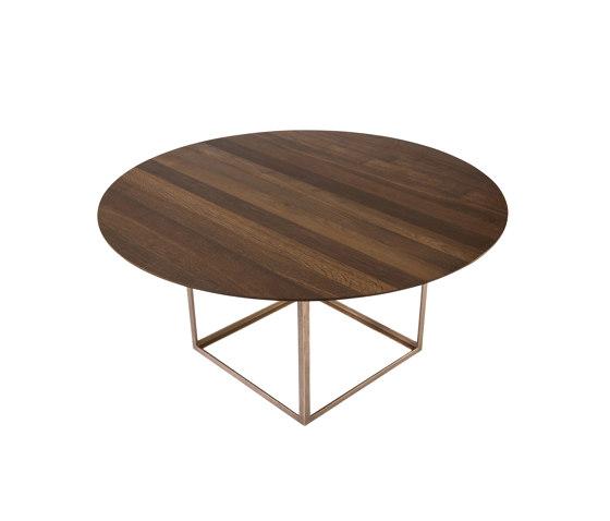 JEWEL TABLE ROUND VERSION di dk3 | Tavoli pranzo