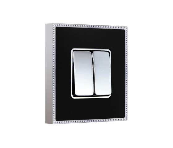 New Belle Époque Metal | Double Push-Button Switch by FEDE | Two-way switches
