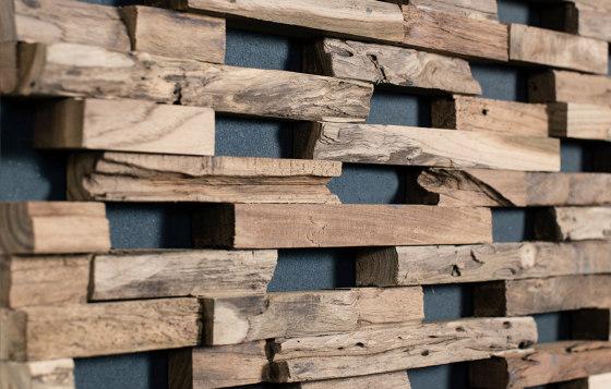 Train by Wonderwall Studios | Wood panels