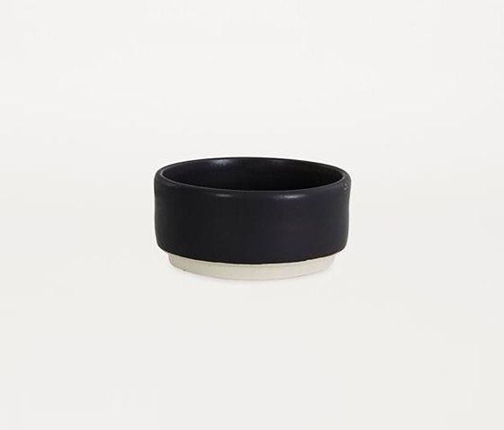 OTTO bowl black (M) | Set of 2 by Frama | Dinnerware