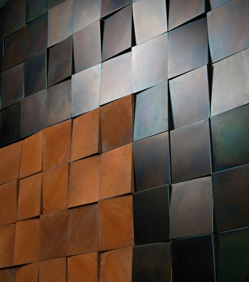 3D WALL by De Castelli | Metal sheets