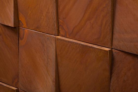 3D WALL di De Castelli | Lamiere metallo