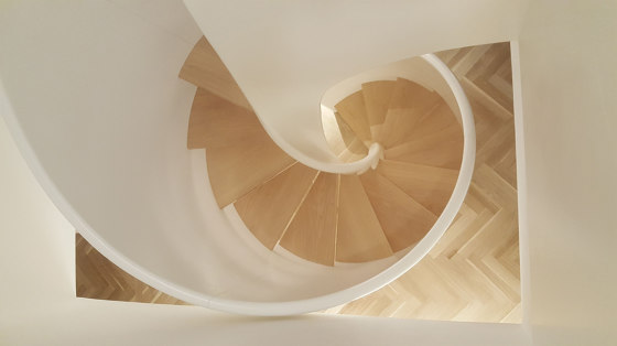 Tornado Spiral by Siller Treppen | Staircase systems