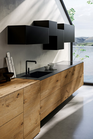 36e8 Wildwood Kitchen - 1091 by LAGO | Fitted kitchens