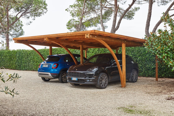 Covercar by Unopiù | Open parking areas