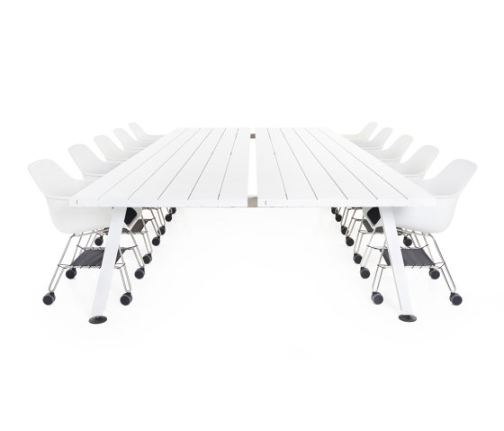 Marina double desk by extremis | Dining tables