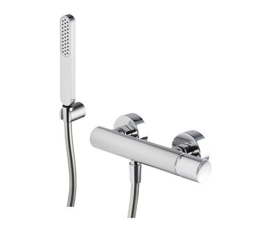 Nomos Go F4165   Mezclador para ducha con set de ducha de Fima Carlo Frattini   Grifería para duchas