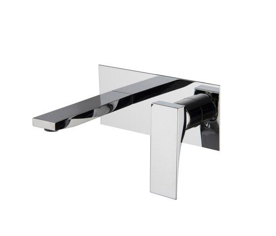 Zeta F3971X5   Wall mounted wash basin mixer by Fima Carlo Frattini   Wash basin taps