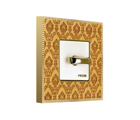 New Belle Époque Tapestry   Rotary Switch by FEDE   Rotary switches