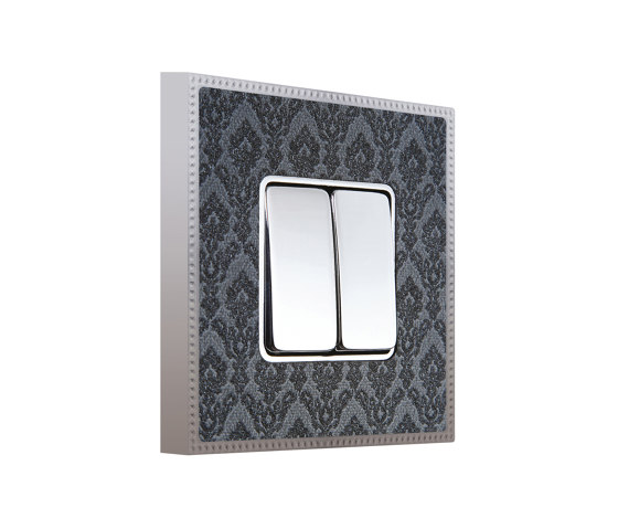 New Belle Époque Tapestry | Double Push-Button Switch by FEDE | Two-way switches