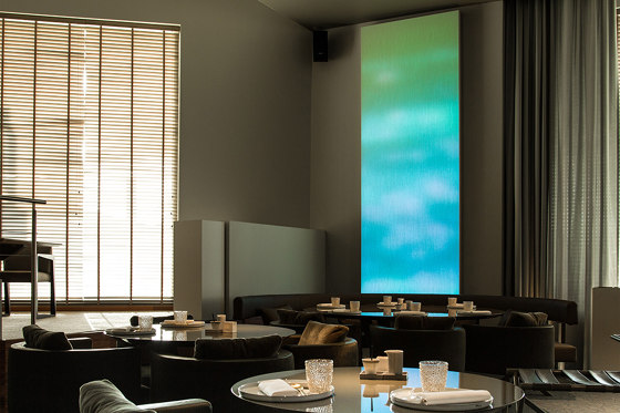 Color Kinetics Luminous Textile with Kvadrat Soft Cells by Luminous Surfaces (Color Kinetics) | Special lights
