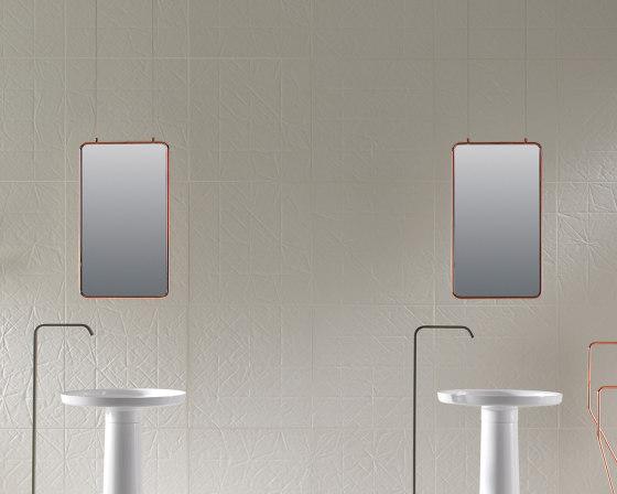 Bowl Two-sided hanging mirror by Inbani | Bath mirrors