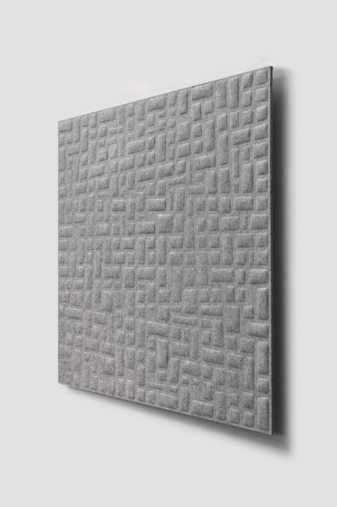 Whisperwool Nickel by Tante Lotte | Sound absorbing wall systems