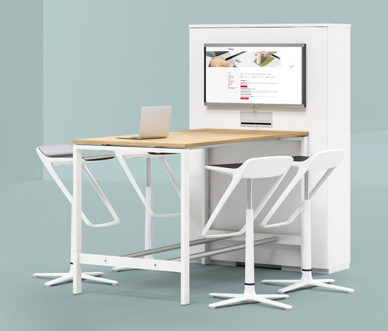 Solos  High-Desk by Assmann Büromöbel | Standing tables