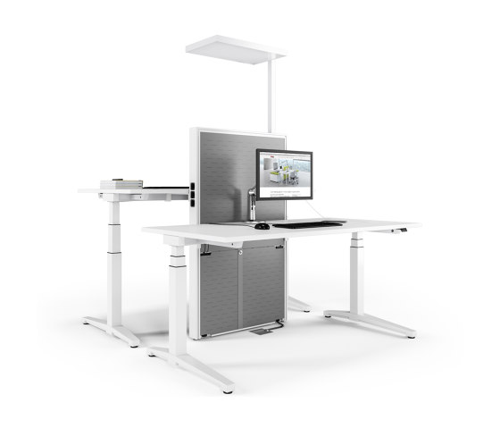 Applica Workstation modules by Assmann Büromöbel | Table accessories