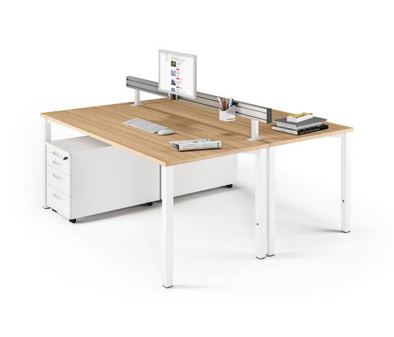 Viteco Organisation by Assmann Büromöbel | Table dividers