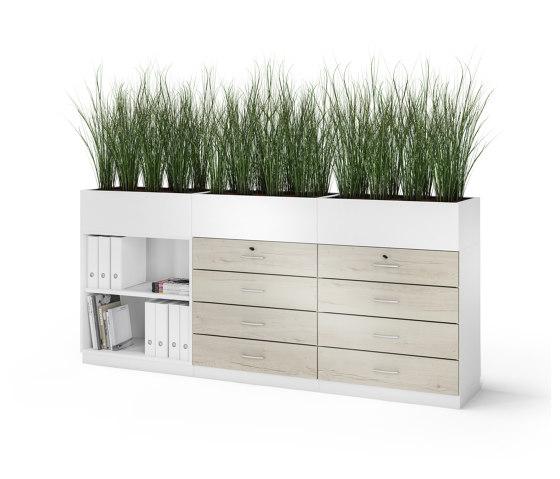 Allvia Combination cabinets by Assmann Büromöbel   Cabinets