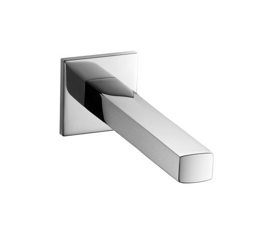 KWC AVA Bathtub spout Fixed spout by KWC   Bath taps