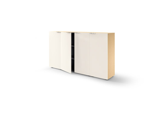 Site wall-mounted credenza by RENZ   Sideboards