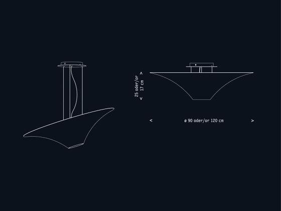 LichterTrichter Deckenversion by Lichtlauf | Ceiling lights