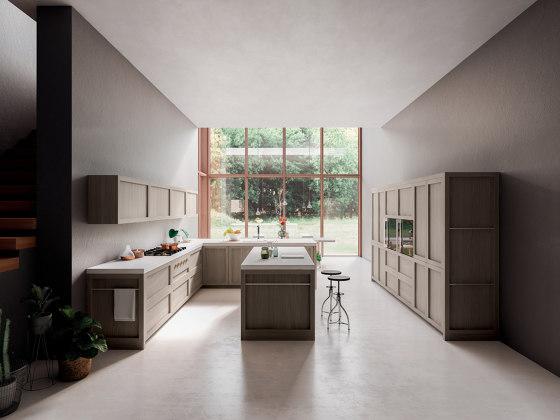 Legno Vivo 2.6 di GD Arredamenti   Cucine parete