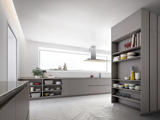 Velvet Profile-i by GD Arredamenti | Fitted kitchens