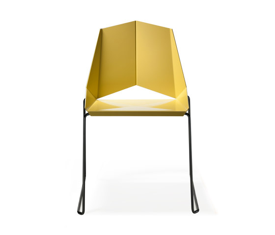Kite Chair Skidframe di OXIT design   Sedie