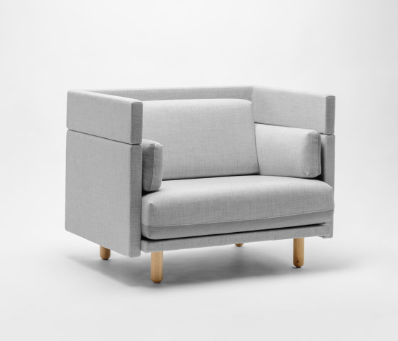 Arnhem Loveseat 94 by De Vorm | Armchairs