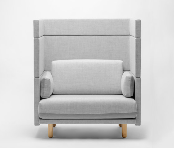 Arnhem Loveseat 141 by De Vorm | Armchairs